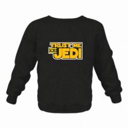 Детский реглан (свитшот) Trust me, I'm a Jedi