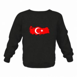 Детский реглан (свитшот) Turkey