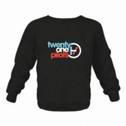 Дитячий реглан (світшот) Twenty One Pilots Logo