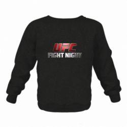 Дитячий реглан (світшот) UFC Fight Night