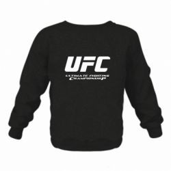Детский реглан (свитшот) UFC