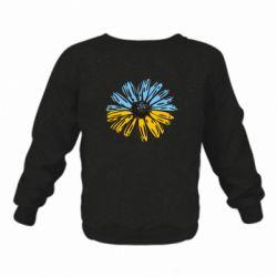Дитячий реглан (світшот) Українська квітка