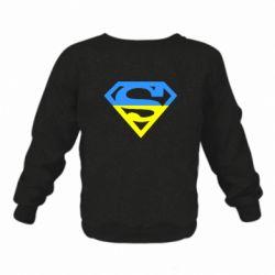 Детский реглан Український Superman - FatLine