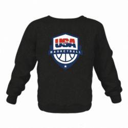 Дитячий реглан (світшот) USA basketball