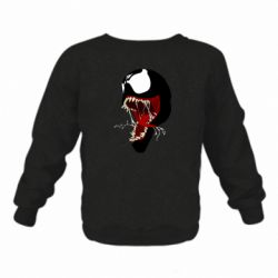 Дитячий реглан (світшот) Venom jaw