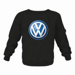 Дитячий реглан (світшот) Volkswagen 3D Logo