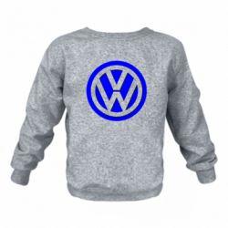 Дитячий реглан (світшот) Логотип Volkswagen