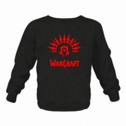 Детский реглан (свитшот) WarCraft Logo