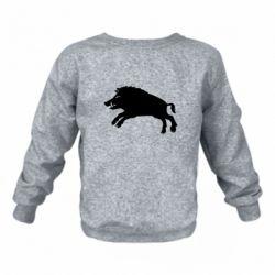 Дитячий реглан (світшот) Wild boar