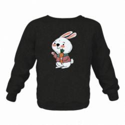 Дитячий реглан (світшот) Winter bunny