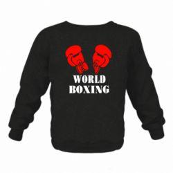 Детский реглан (свитшот) World Boxing
