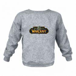 Дитячий реглан (світшот) World of Warcraft game