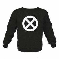 Дитячий реглан (світшот) X-man logo