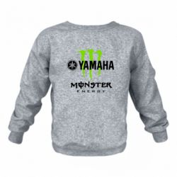 Дитячий реглан (світшот) Yamaha Monster Energy