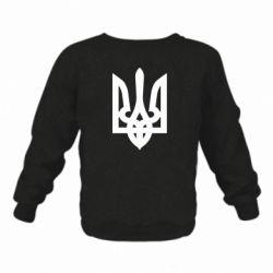 Детский реглан Жирный Герб Украины - FatLine