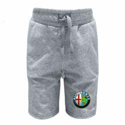 Детские шорты ALFA ROMEO