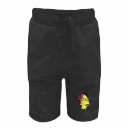 Детские шорты Bart as Lil Peep