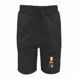 Детские шорты Bart Simpson - FatLine