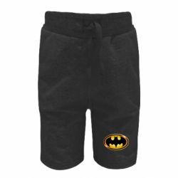 Дитячі шорти Batman logo Gold