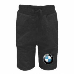 Детские шорты BMW Logo 3D
