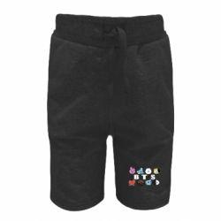 Дитячі шорти Bts emoji