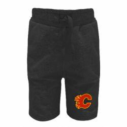 Детские шорты Calgary Flames - FatLine