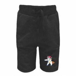 Дитячі шорти Christmas Unicorn