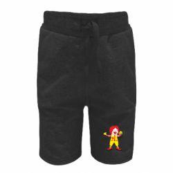 Дитячі шорти Clown McDonald's