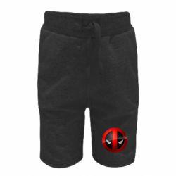 Детские шорты Deadpool Logo
