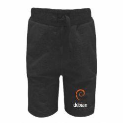 Детские шорты Debian