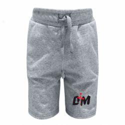 Детские шорты depeche mode logo