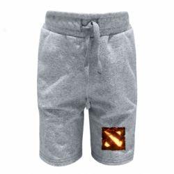 Детские шорты Dota 2 Fire Logo