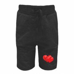 Детские шорты Два сердца