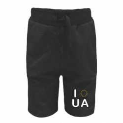 Детские шорты Euro UA - FatLine