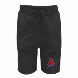 Детские шорты Флаг Англии