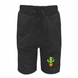 Дитячі шорти Free Hugs Cactus