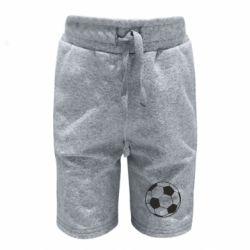 Дитячі шорти Футбольний м'яч