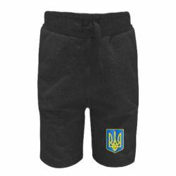 Детские шорты Герб України 3D