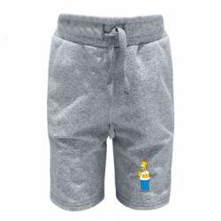Детские шорты Гомер что-то затеял - FatLine
