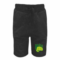 Детские шорты Hulk fist