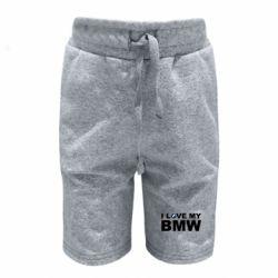 Дитячі шорти I love my BMW