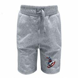 Детские шорты Капитан Америка