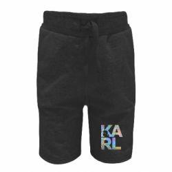 Дитячі шорти Karl fashion designer