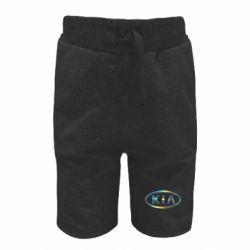 Детские шорты KIA logo Голограмма