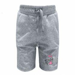 Детские шорты Kitty амурчик - FatLine