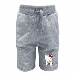 Детские шорты Kitty с букетиком