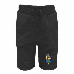 Детские шорты Козак и ак-47 - FatLine
