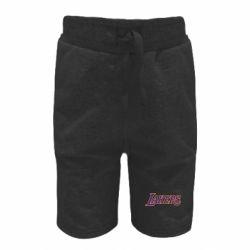 Детские шорты LA Lakers - FatLine