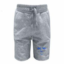 Детские шорты Лицо аниме - FatLine