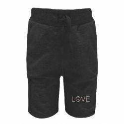 Дитячі шорти lil peep: love